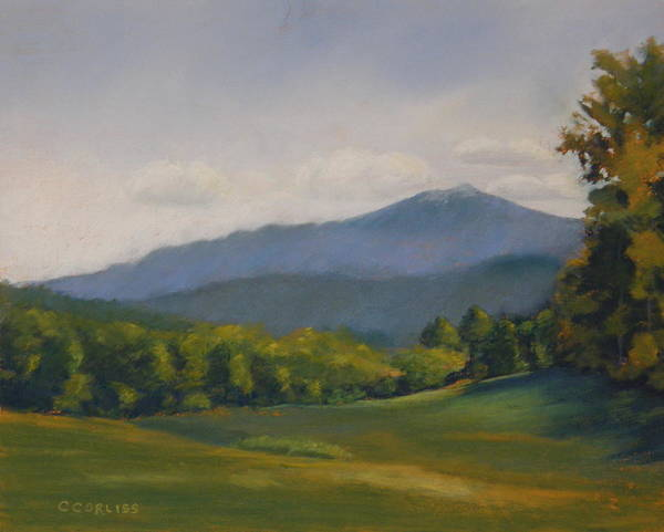 Pastel - Monadnock Summer by Carol Corliss