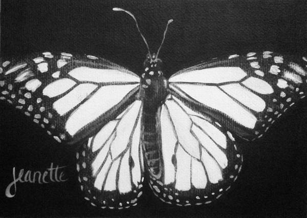 Painting - Monarch Butterfly by Jeanette Fellows