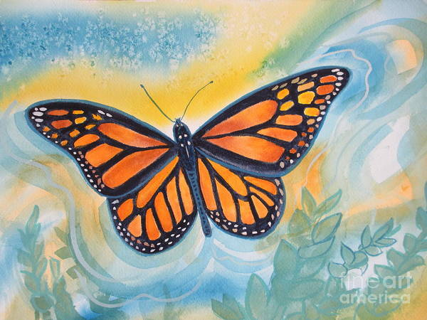 Painting - Monarch by Sherri Anderson