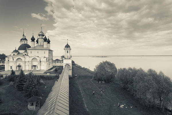 Onion Domes Photograph - Monastery Of Saint Jacob by Panoramic Images