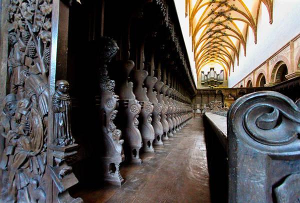 Photograph - Monastery Seats by Jenny Setchell