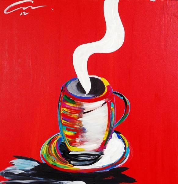 Interior Wall Art - Painting - Monday 5am  Edition 2 by Mac Worthington