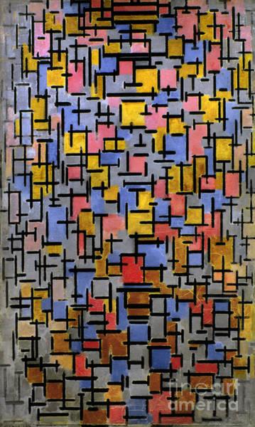 Aod Wall Art - Photograph - Mondrian Composition 1916 by Granger