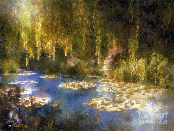 Painting - Monet After Midnight by RC DeWinter