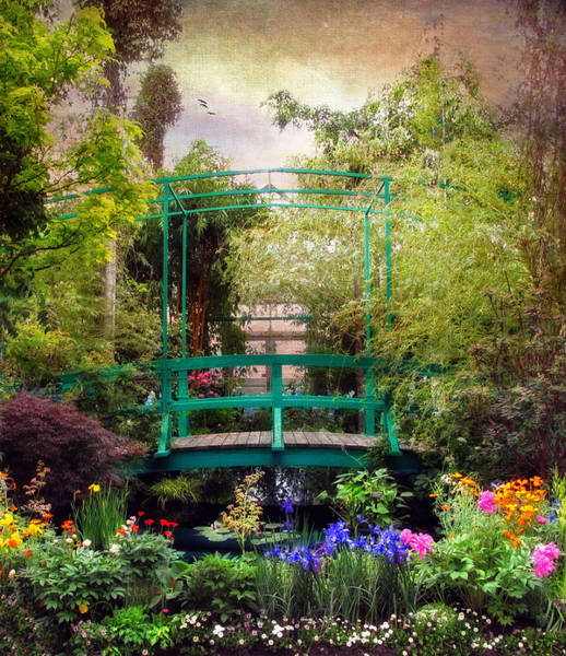 Giverny Photograph - Monet Footbridge by Jessica Jenney
