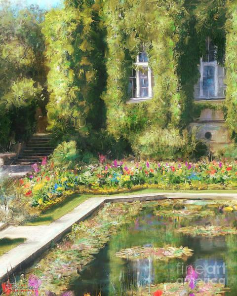 Monet Hommage 1 Art Print