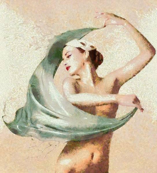 Digital Art - Monet Movement by Catherine Lott