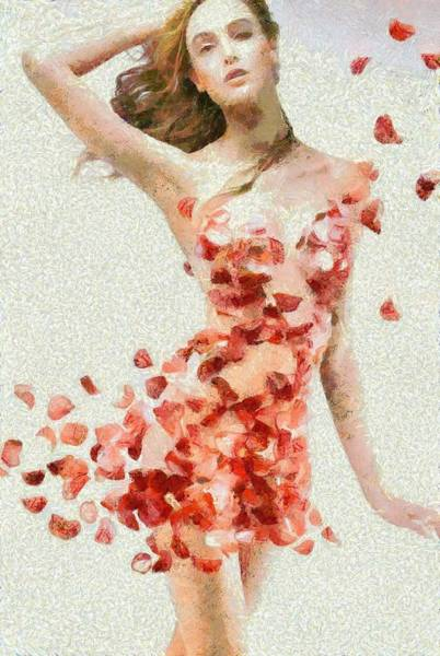 Digital Art - Monet Petals by Catherine Lott