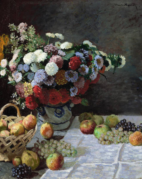 Painting - Monet Still Life, 1869 by Granger