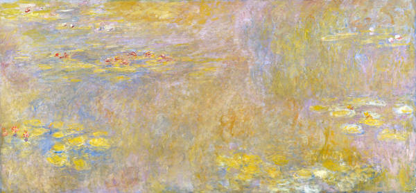 Wall Art - Painting - Monet Water Lilies, 1920 by Granger