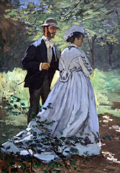 Claude Monet Photograph - Monet's Bazille And Camille by Cora Wandel