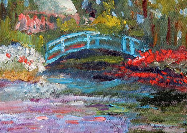 Painting - Monet's Garden by Michael Helfen