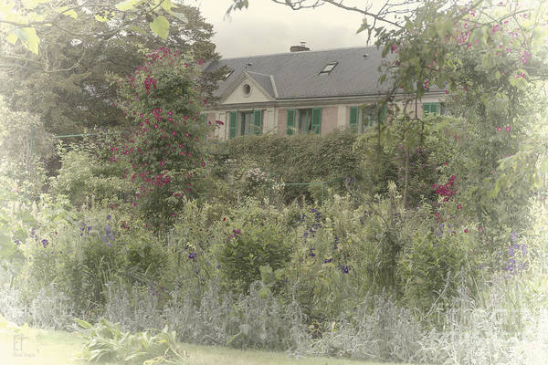 Photograph - Monets House And Garden In Giverny by Elaine Teague