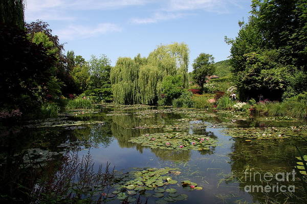 Claude Monet Photograph - Monets Waterlily Pond by Christiane Schulze Art And Photography