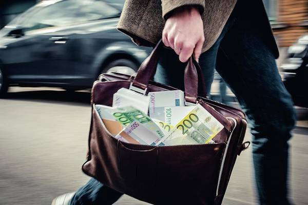 Wall Art - Photograph - Money Laundering by Jonas Gilles/reporters/science Photo Library