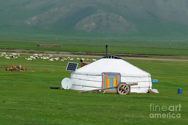 Photograph - Mongolian Living by Karla Weber