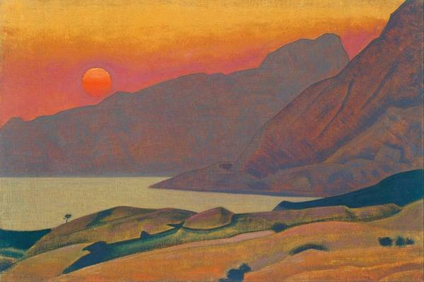 Nk Roerich Painting - Monhegan - Maine by Nicholas Roerich
