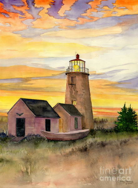 Melly Terpening - Monhegan Island Lighthouse
