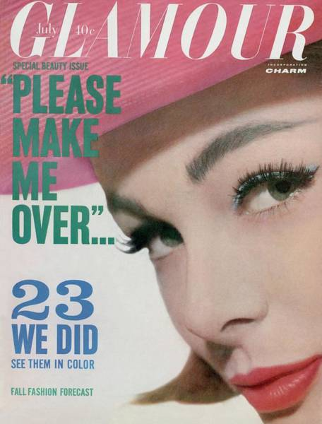 Photograph - Monique Chevalier On The Cover Of Glamour by Tom Palumbo