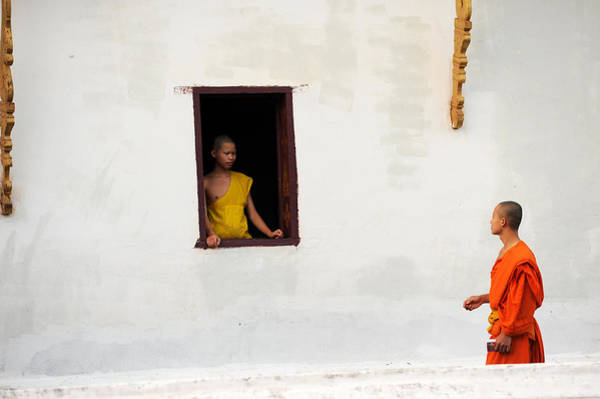 Wall Art - Photograph - Monk By The Window by Jessica Rose