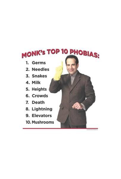 Buddhism Digital Art - Monk - Top 10 Phobias by Brand A
