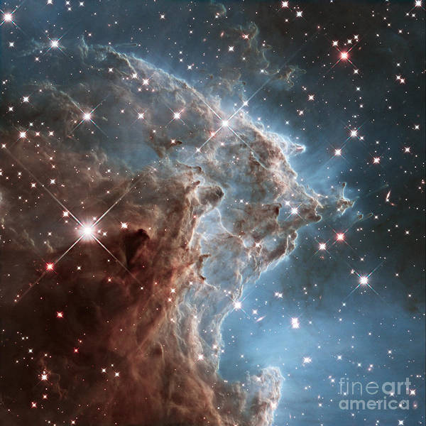 Photograph - Monkey Head Nebula by Science Source