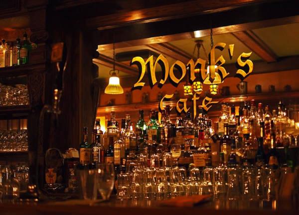 Monks Cafe Art Print