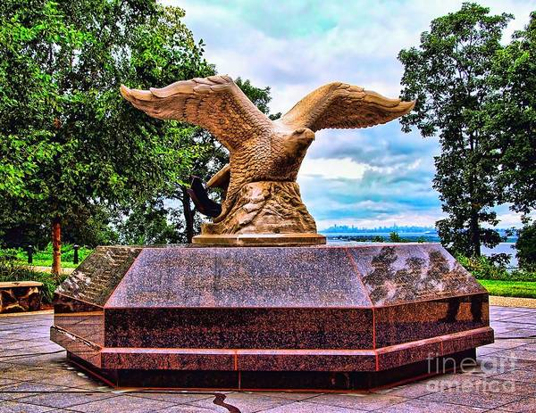 Photograph - Monmouth County 9/11 Memorial by Nick Zelinsky