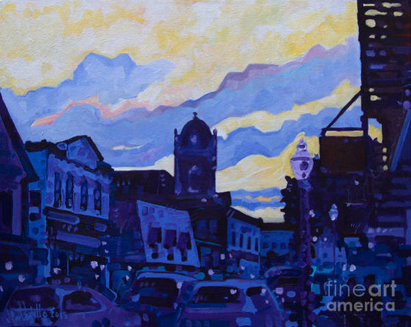 Monmouth Sunset Art Print
