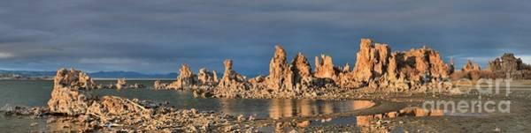 Photograph - Mono Lake Afternoon Panorama by Adam Jewell