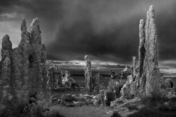 Wall Art - Photograph - Mono Lake Drama by Dave Dilli