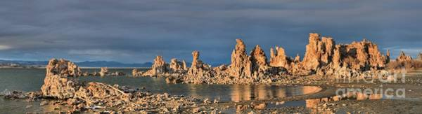 Photograph - Mono Lake Medium Afternoon Panorama by Adam Jewell