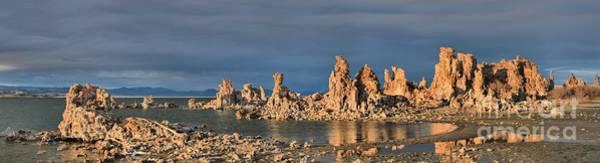 Photograph - Mono Lake Medium Afternoon Panorama by Adam Jewell