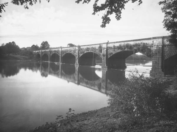 Monocacy Wall Art - Photograph - Monocacy Aqueduct, 1892 by Granger