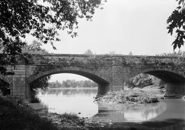 Monocacy Wall Art - Photograph - Monocacy Aqueduct, 1936 by Granger