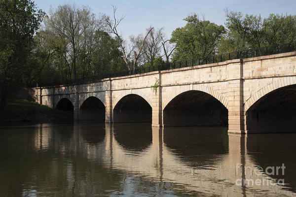 Wall Art - Photograph - Monocacy Aqueduct On The C And O Canal In Maryland by William Kuta
