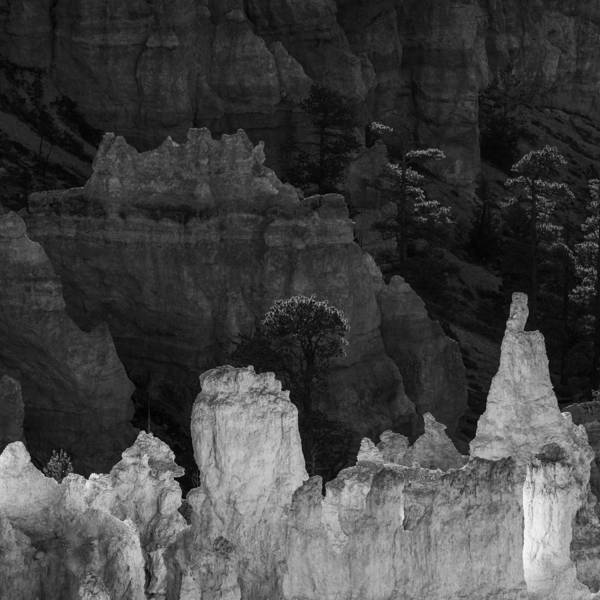 Hoodoos Photograph - Monochrome Morning by Joseph Smith
