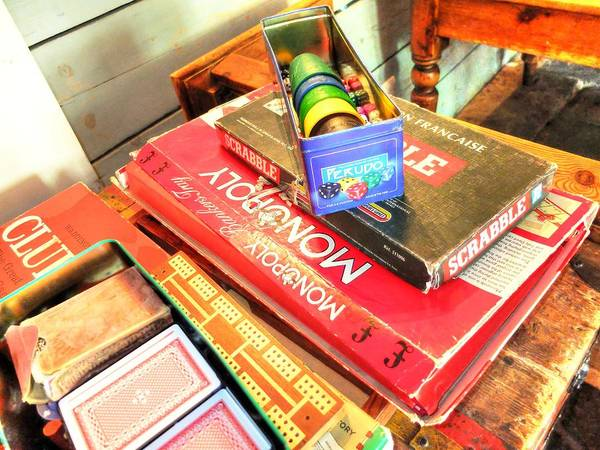 Photograph - Monopoly-board-games by Michael Hope
