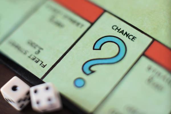 Monopoly Chance - Question Mark, Concept Art Print by Marco Rosario Venturini Autieri