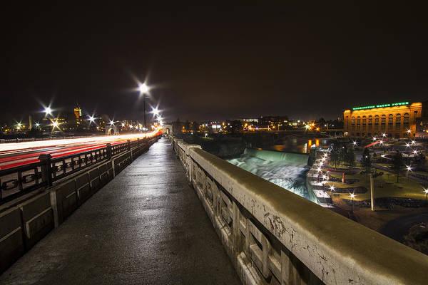 Spokane Photograph - Monroe Street View - Spokane by Mark Kiver