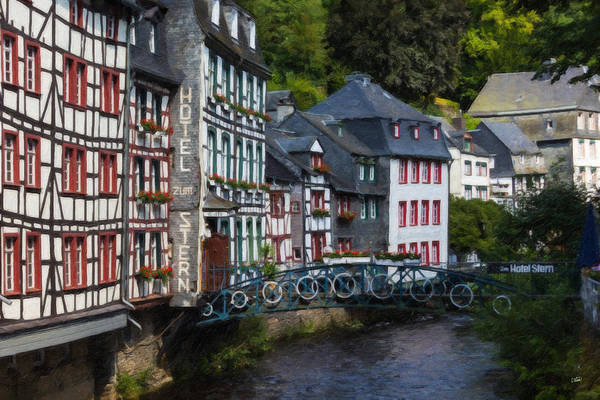Painting - Monschau Ger4142 by Dean Wittle