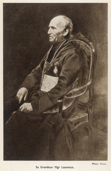 Bernadette Photograph - Monseigneur Laurence, Bishop Of Tarbes by Mary Evans Picture Library