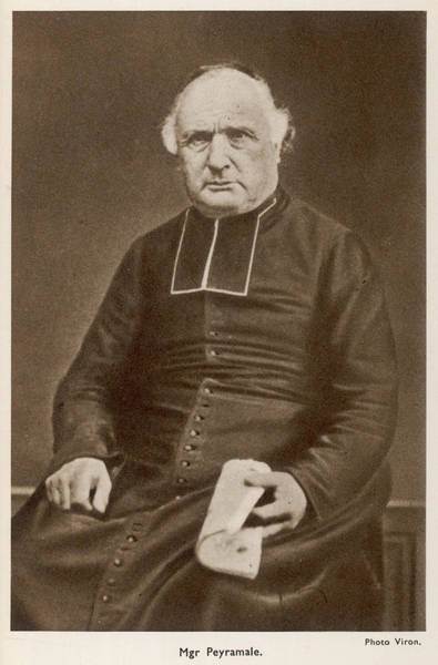Bernadette Photograph - Monseigneur Peyramale, The French by Mary Evans Picture Library