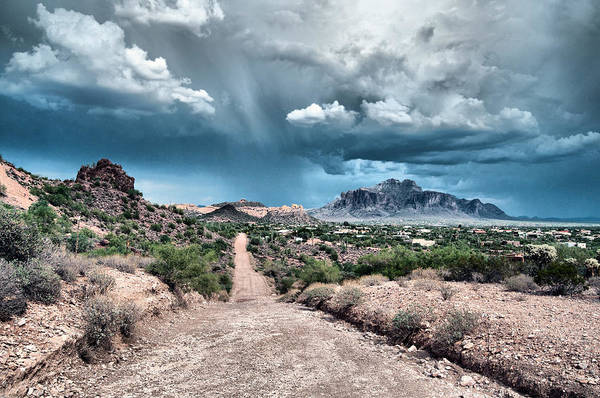 Photograph - Monsoon Storm by Tam Ryan