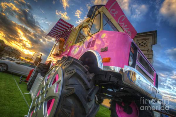Photograph - Monster Ice Cream Truck by Yhun Suarez