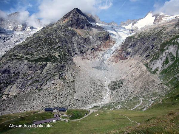 Buy Art Online Photograph - Mont Blanc by Alexandros Daskalakis