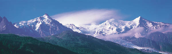 Mont Blanc Wall Art - Photograph - Mont Blanc France by Panoramic Images