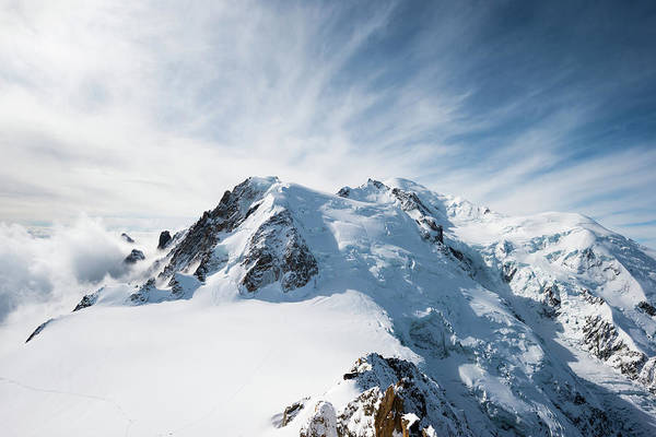 Chamonix Wall Art - Photograph - Mont Blanc, French Alps, Chamonix by Blurra