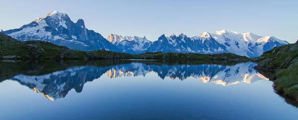 Ibex Wall Art - Photograph - Mont Blanc Massif Panorama by Mircea Costina Photography