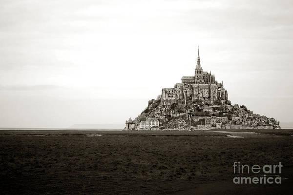 Photograph - Mont Saint Michel by Olivier Le Queinec